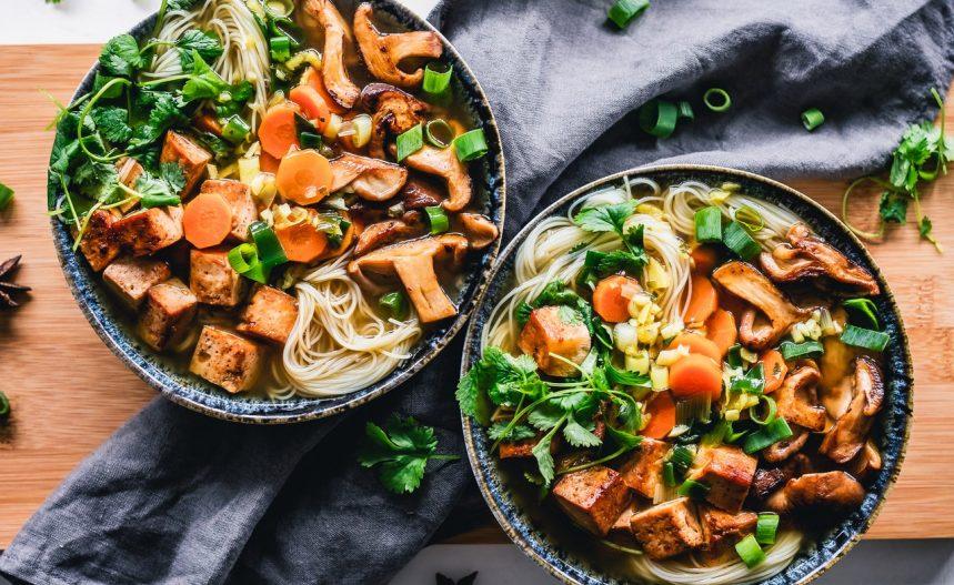 noodle salad appetizer