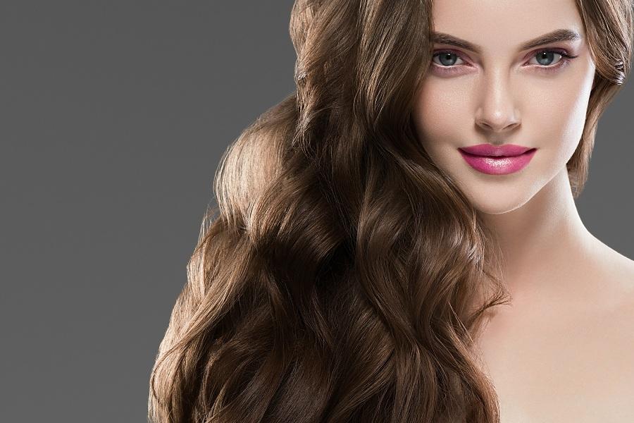 Long hair healthy hair