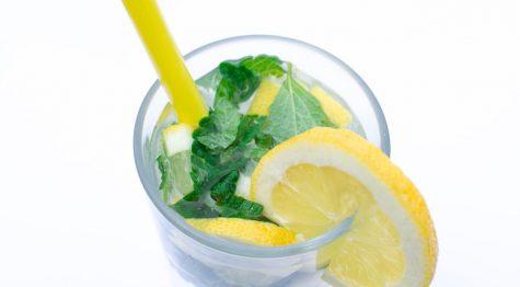 beverage infused herbal water