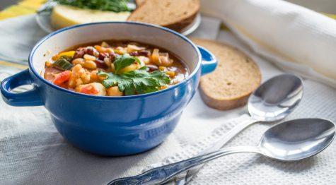 bowl of stamina soup
